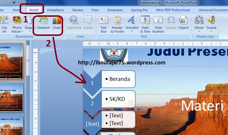 Powerpoint 2 cara membuat template dan slide master pagar alam 7 toneelgroepblik Choice Image
