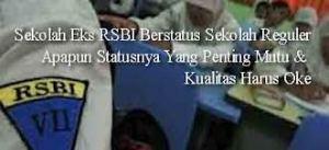 sekolah eks RSBI