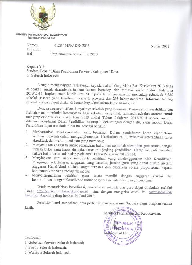 Surat-Mendikbud krlm 2013