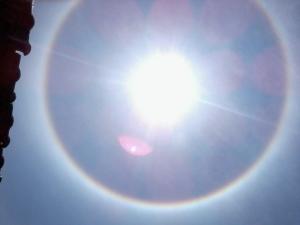 Fenomena Halo Matahari Pagar Alam Kejadian Alam atau Sebuah Pertanda