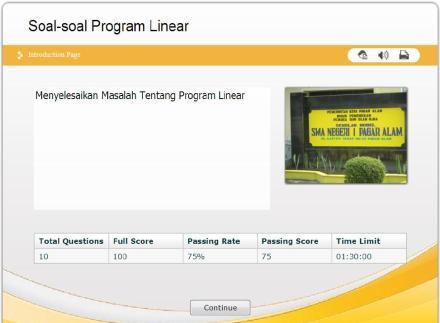 program linear 4